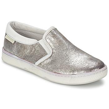 Schoenen Kinderen Instappers Pataugas JLIP/S Zilver