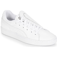 Schoenen Dames Lage sneakers Puma WN BASKET CRUSH EMBOSS.WH Wit
