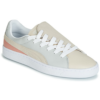 Schoenen Dames Lage sneakers Puma WN BASKET CRUSH PARIS.GRAY Beige