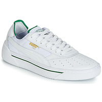 Schoenen Heren Lage sneakers Puma CALI.WH-AMAZON GREEN-WH Wit / Groen