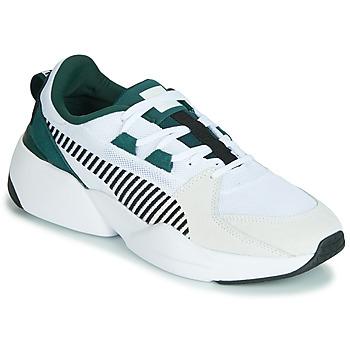 Schoenen Heren Lage sneakers Puma ZETA SUEDE.WHITE-PONDEROSA Wit