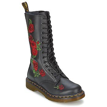 Schoenen Dames Hoge laarzen Dr Martens VONDA Zwart