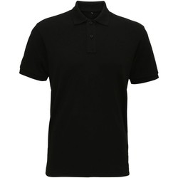 Textiel Heren Polo's korte mouwen Asquith & Fox  Zwart