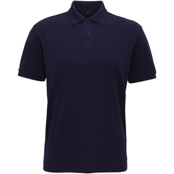 Textiel Heren Polo's korte mouwen Asquith & Fox  Marine