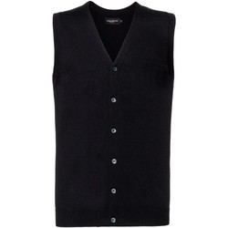 Textiel Heren Vesten / Cardigans Russell Knitted Zwart