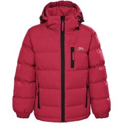 Textiel Jongens Dons gevoerde jassen Trespass Tuff Rood