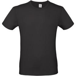 Textiel Heren T-shirts korte mouwen B And C E150 Zwart