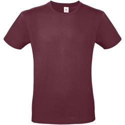 Textiel Heren T-shirts korte mouwen B And C E150 Bourgondië