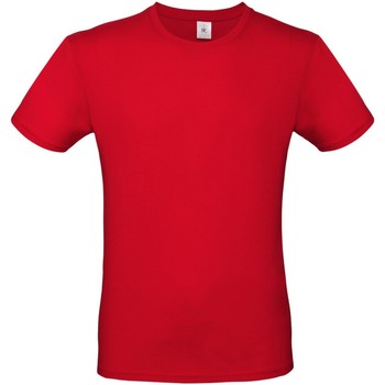Textiel Heren T-shirts korte mouwen B And C E150 Rood