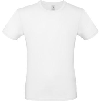 Textiel Heren T-shirts korte mouwen B And C TU01T Wit