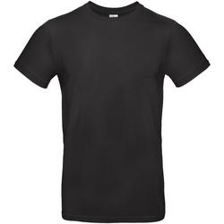 Textiel Heren T-shirts korte mouwen B And C E190 Zwart