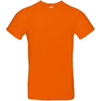 Textiel Heren T-shirts korte mouwen B And C E190 Oranje