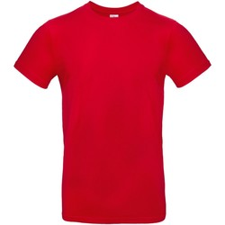 Textiel Heren T-shirts korte mouwen B And C E190 Rood