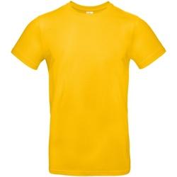 Textiel Heren T-shirts korte mouwen B And C E190 Goud