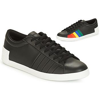 Schoenen Dames Lage sneakers Le Coq Sportif FLAG Zwart / Multikleuren