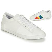 Schoenen Dames Lage sneakers Le Coq Sportif FLAG Wit / Multicolour
