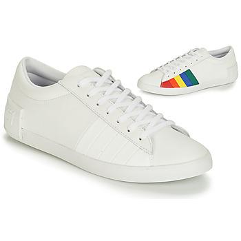 Schoenen Dames Lage sneakers Le Coq Sportif FLAG Wit / Multikleuren