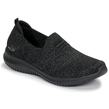 Schoenen Dames Instappers Skechers ULTRA FLEX Zwart
