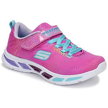 Schoenen Meisjes Lage sneakers Skechers LITEBEAMS Roze
