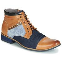 Schoenen Heren Laarzen Kdopa ALMERIA  camel / Blauw
