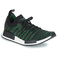 Schoenen Lage sneakers adidas Originals NMD_R1 STLT PK Zwart / Groen