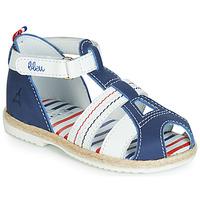 Schoenen Kinderen Sandalen / Open schoenen GBB COCORIKOO Vte / Marine / Dpf / Isa