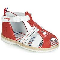 Schoenen Kinderen Sandalen / Open schoenen GBB COCORIKOO Vte / Rood / Dpf / Isa