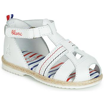 Schoenen Kinderen Sandalen / Open schoenen GBB COCORIKOO Vte / Wit / Dpf / Isa