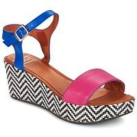 Schoenen Dames Sandalen / Open schoenen Betty London COQUETTE  FUCHSIA / Blauw