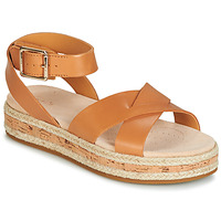 Schoenen Dames Sandalen / Open schoenen Clarks BOTANIC POPPY Brown
