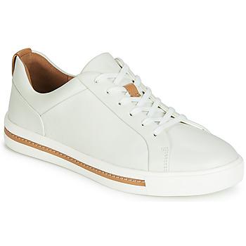 Schoenen Dames Lage sneakers Clarks UN MAUI LACE Wit