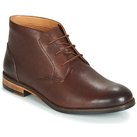 Schoenen Heren Laarzen Clarks FLOW TOP Brown