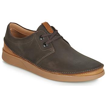 Schoenen Heren Derby Clarks OAKLAND LACE Brown