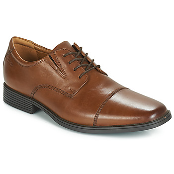 Schoenen Heren Derby Clarks TILDEN CAP Brown