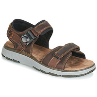 Schoenen Heren Outdoorsandalen Clarks UN TREK PART Brown