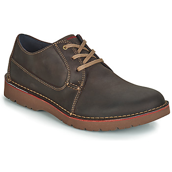 Schoenen Heren Derby Clarks VARGO PLAIN Brown