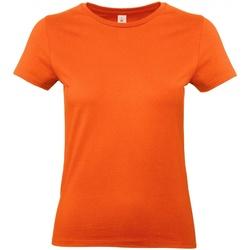 Textiel Dames T-shirts korte mouwen B And C E190 Oranje