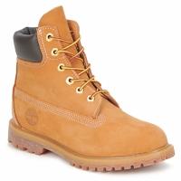 Schoenen Dames Laarzen Timberland 6 IN PREMIUM BOOT Graan / Nubuck