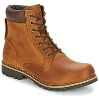 Schoenen Heren Laarzen Timberland EK RUGGED 6 IN PLAIN TOE BOOT Brown