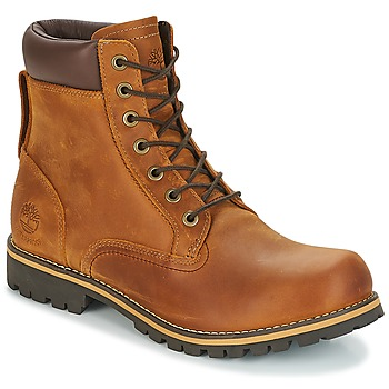 Schoenen Heren Laarzen Timberland EK RUGGED 6 IN PLAIN TOE BOOT Brown / Donker