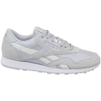 Schoenen Kinderen Lage sneakers Reebok Sport CL Nylon Skull Blanc, Gris