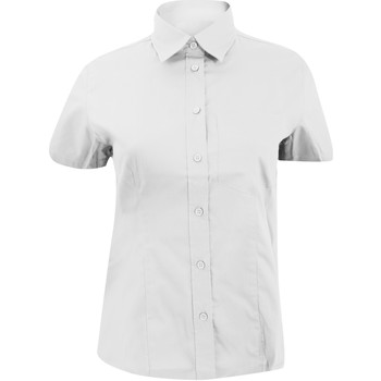 Textiel Dames Overhemden Kustom Kit Oxford Wit