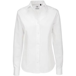 Textiel Dames Overhemden B And C Sharp Wit