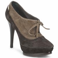 Schoenen Dames Low boots Alberto Gozzi CAMOSCIO ARATY Brown