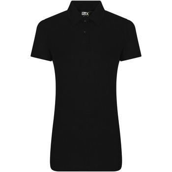 Textiel Dames Polo's korte mouwen Pro Rtx RX05F Zwart