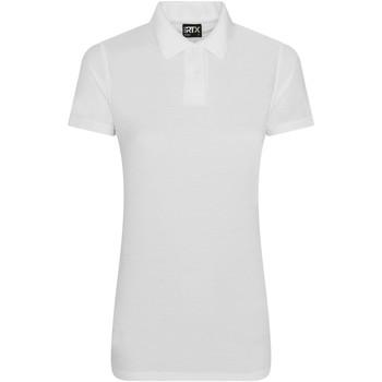 Textiel Dames Polo's korte mouwen Pro Rtx RX05F Wit