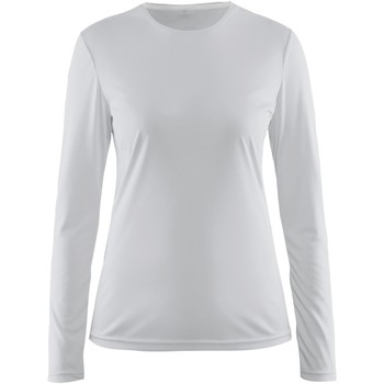Textiel Dames T-shirts met lange mouwen Craft CT89F Wit