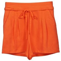 Textiel Dames Korte broeken / Bermuda's Naf Naf KUIPI Orange