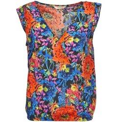 Textiel Dames Tops / Blousjes Naf Naf LAFOLI BO Multikleuren