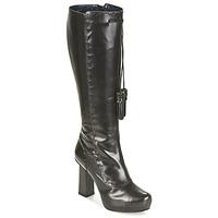 Schoenen Dames Hoge laarzen Pollini PA2611 Zwart